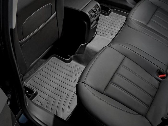 WeatherTech DigitalFit Floor Mats for 2011-2017 Buick Regal [Covers Rear, Black] (WEA94870)