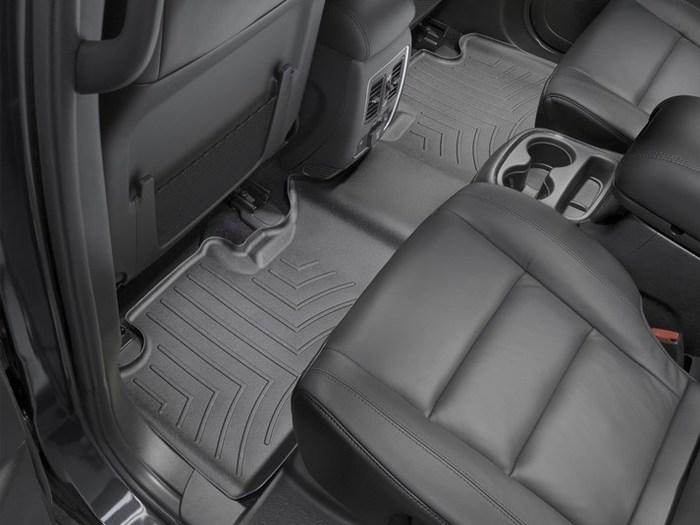 WeatherTech DigitalFit Floor Mats for 2011-2017 Dodge Durango [Covers Rear, Black] (WEA94864)