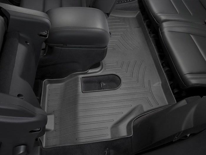 WeatherTech DigitalFit Floor Mats for 2011-2017 Dodge Durango [Covers Rear, Black] (WEA94865)