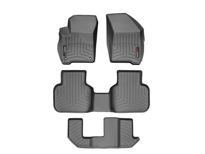 WeatherTech DigitalFit Floor Mats for 2011-2017 Dodge Journey [Covers Front & Rear, Black] (WEA95005)