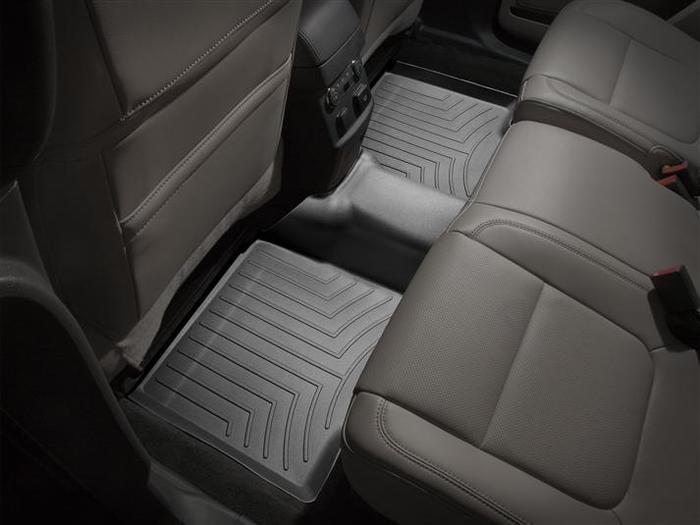 WeatherTech DigitalFit Floor Mats for 2011-2017 Ford Explorer [Covers Rear, Black] (WEA94956)