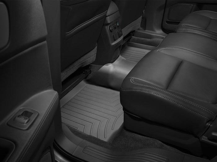 WeatherTech DigitalFit Floor Mats for 2011-2017 Ford Explorer [Covers Rear, Black] (WEA94958)