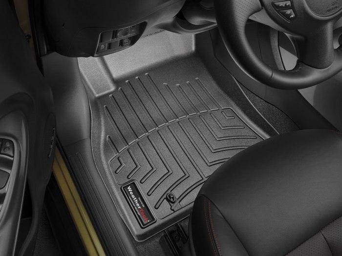 WeatherTech DigitalFit Floor Mats for 2011-2017 Nissan Juke [Covers Front, Black] (WEA95293)