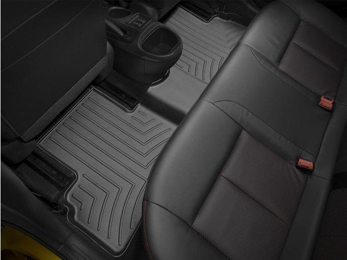 WeatherTech DigitalFit Floor Mats for 2011-2017 Nissan Juke [Covers Rear, Black] (WEA95294)