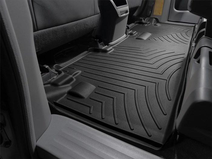WeatherTech DigitalFit Floor Mats for 2011-2017 Toyota Sienna [Covers Rear, Black] (WEA94783)