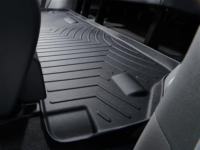 WeatherTech DigitalFit Floor Mats for 2011-2017 Toyota Sienna [Covers Rear, Black] (WEA94784)