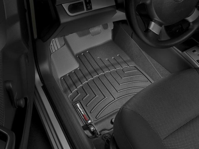 WeatherTech DigitalFit Floor Mats for 2011 Chevrolet Aveo [Covers Front, Black] (WEA94971)