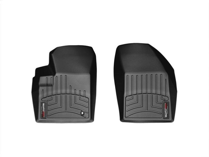 WeatherTech DigitalFit Floor Mats for 2011 Chrysler 200 [Covers Front, Black] (WEA95001)