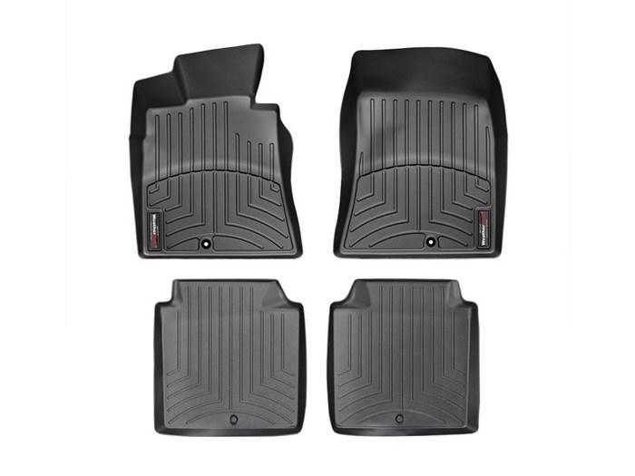 WeatherTech DigitalFit Floor Mats for 2011 Hyundai Equus [Covers Front & Rear, Black] (WEA94804)