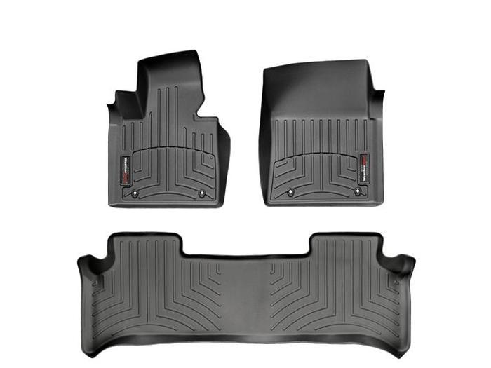 WeatherTech DigitalFit Floor Mats for 2011 Land Rover Range Rover [Covers Front & Rear, Black] (WEA94894)