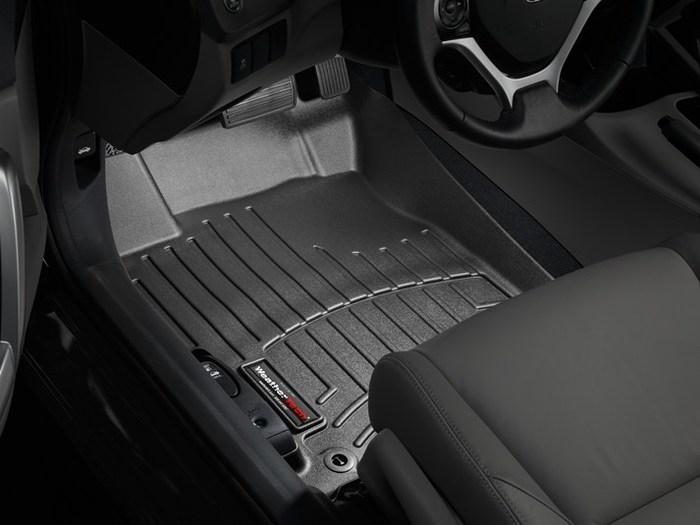 WeatherTech DigitalFit Floor Mats for 2012-2013 Honda Civic [Covers Front, Black] (WEA95025)