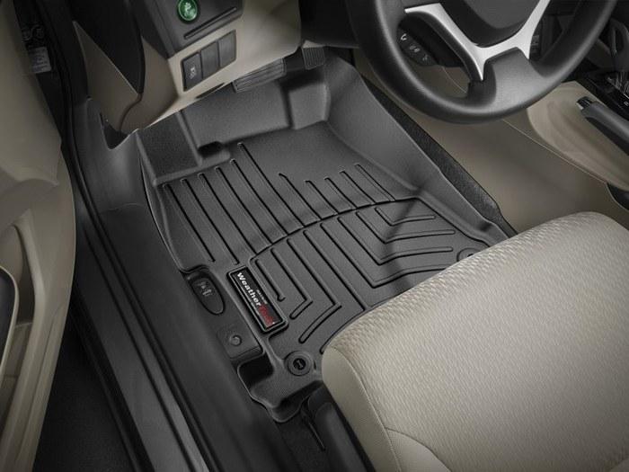 WeatherTech DigitalFit Floor Mats for 2012-2014 Honda Civic [Covers Front, Black] (WEA94990)