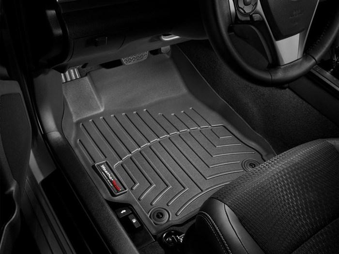 WeatherTech DigitalFit Floor Mats for 2012-2014 Toyota Camry [Covers Front, Black] (WEA95028)