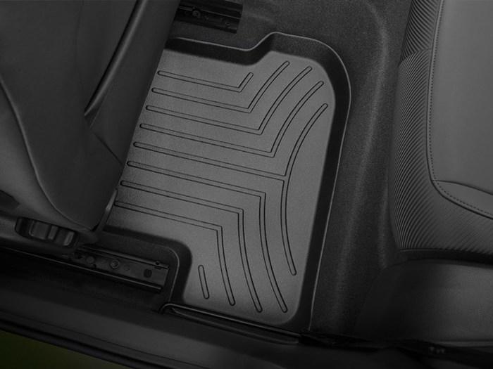 WeatherTech DigitalFit Floor Mats for 2012-2014 Volkswagen Beetle [Covers Rear, Black] (WEA94900)