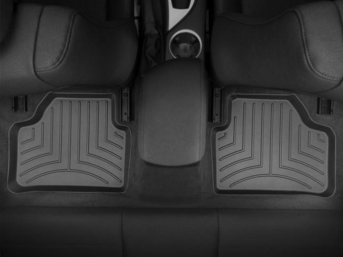 WeatherTech DigitalFit Floor Mats for 2012-2015 BMW X1 [Covers Rear, Black] (WEA94974)