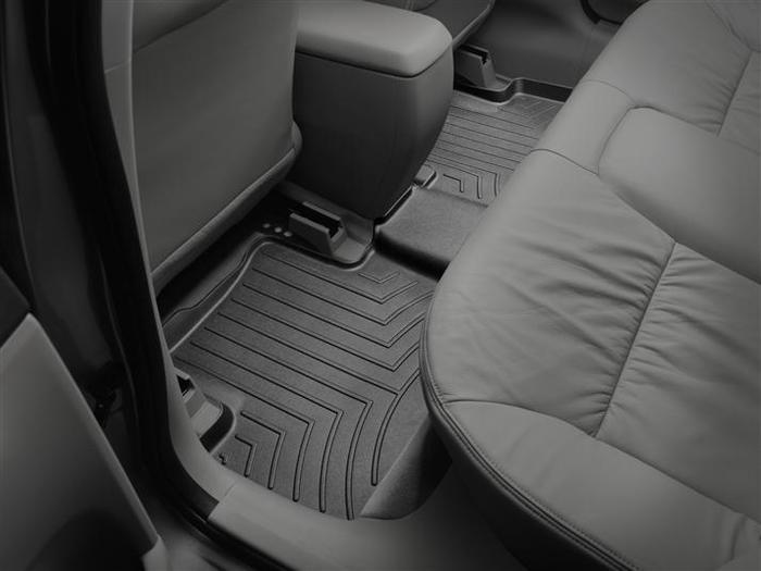 WeatherTech DigitalFit Floor Mats for 2012-2015 Honda Civic [Covers Rear, Black] (WEA94991)