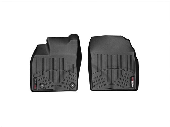 WeatherTech DigitalFit Floor Mats for 2012-2015 Toyota Prius Plug-In [Covers Front, Black] (WEA95329)