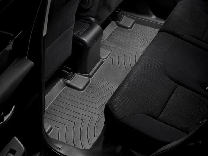 WeatherTech DigitalFit Floor Mats for 2012-2016 Honda CR-V [Covers Rear, Black] (WEA95037)