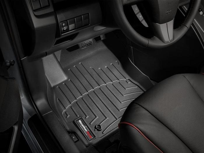 WeatherTech DigitalFit Floor Mats for 2012-2016 Mazda 5 [Covers Front, Black] (WEA94927)
