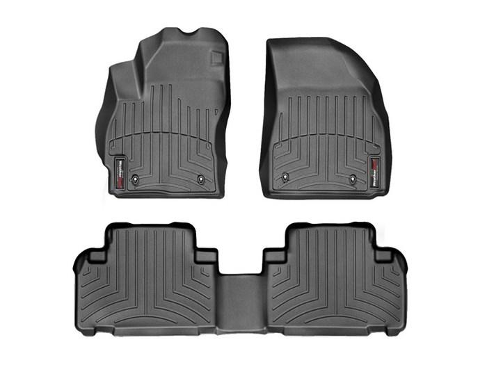 WeatherTech DigitalFit Floor Mats for 2012-2016 Mazda 5 [Covers Front & Rear, Black] (WEA94929)