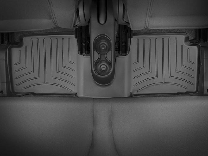 WeatherTech DigitalFit Floor Mats for 2012-2017 Fiat 500 [Covers Rear, Black] (WEA94930)