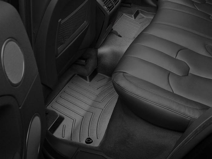 WeatherTech DigitalFit Floor Mats for 2012-2017 Land Rover Range Rover Evoque [Covers Rear, Black] (WEA95044)