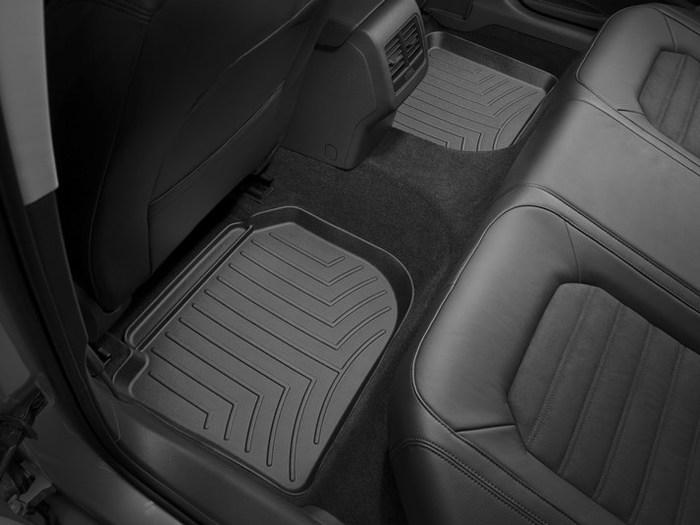 WeatherTech DigitalFit Floor Mats for 2012-2017 Volkswagen Passat [Covers Rear, Black] (WEA95016)