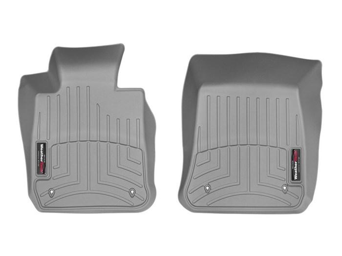 WeatherTech DigitalFit Floor Mats for 2013-2015 BMW X1 [Covers Front, Black] (WEA95443)