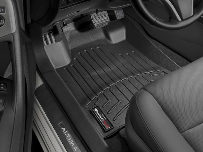 WeatherTech DigitalFit Floor Mats for 2013-2015 Nissan Altima [Covers Front, Black] (WEA95281)