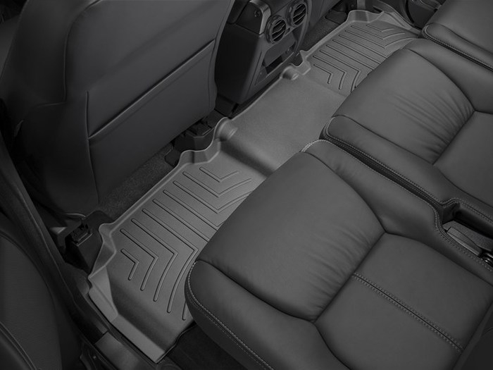 WeatherTech DigitalFit Floor Mats for 2013-2016 Land Rover LR4 [Covers Rear, Black] (WEA94968)