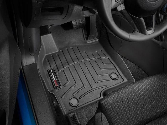 WeatherTech DigitalFit Floor Mats for 2013-2016 Mazda CX-5 [Covers Front, Black] (WEA95082)