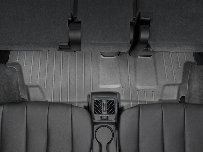 WeatherTech DigitalFit Floor Mats for 2013-2017 BMW X5 [Covers Rear, Black] (WEA95401)