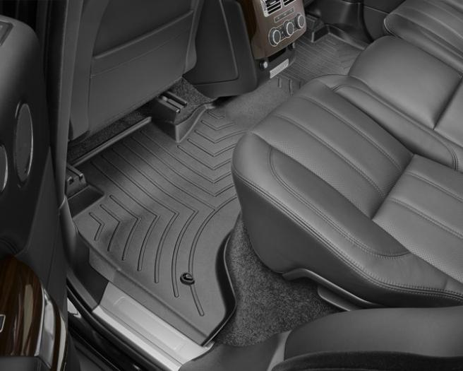 WeatherTech DigitalFit Floor Mats for 2013-2017 Land Rover Range Rover [Covers Rear, Black] (WEA95225)