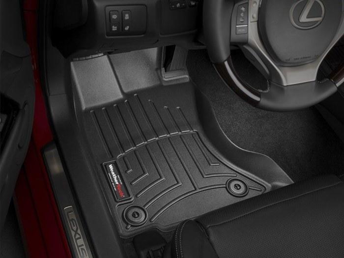 WeatherTech DigitalFit Floor Mats for 2013-2017 Lexus GS350 [Covers Front, Black] (WEA95161)