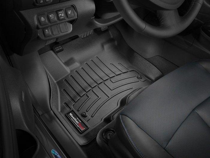 WeatherTech DigitalFit Floor Mats for 2013-2017 Nissan Leaf [Covers Front, Black] (WEA95376)