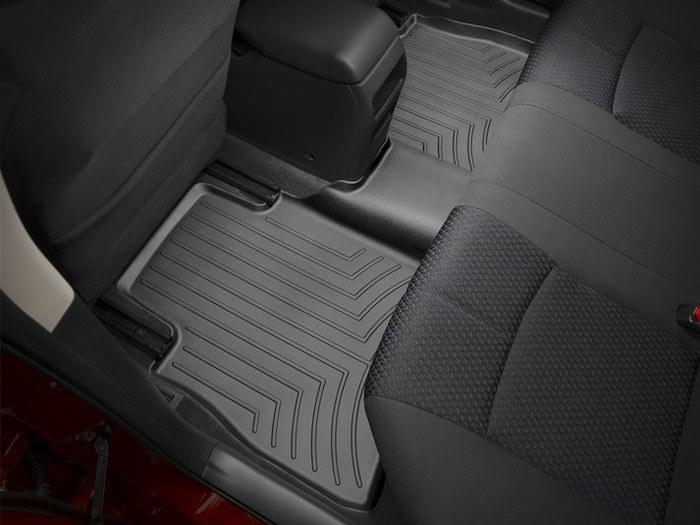 WeatherTech DigitalFit Floor Mats for 2013-2017 Nissan Sentra [Covers Rear, Black] (WEA95263)