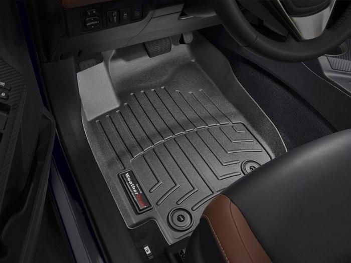 WeatherTech DigitalFit Floor Mats for 2013-2017 Toyota RAV4 [Covers Front, Black] (WEA95299)