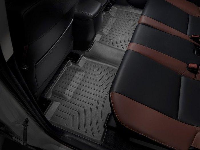 WeatherTech DigitalFit Floor Mats for 2013-2017 Toyota RAV4 [Covers Rear, Black] (WEA95300)