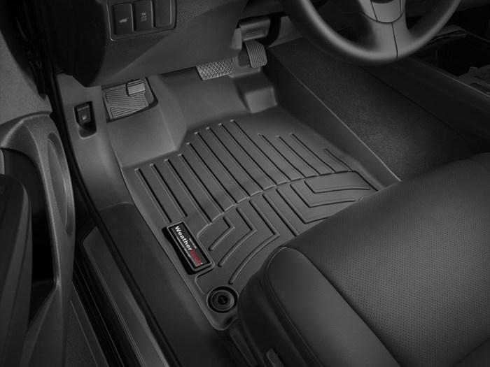 WeatherTech DigitalFit Floor Mats for 2013-2018 Acura RDX [Covers Front, Black] (WEA95197)