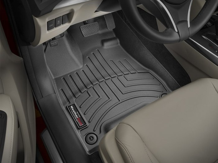 WeatherTech DigitalFit Floor Mats for 2014-2017 Acura MDX [Covers Front, Black] (WEA95450)