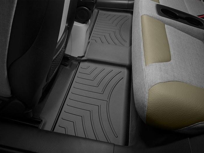 WeatherTech DigitalFit Floor Mats for 2014-2017 BMW i3 [Covers Rear, Black] (WEA95432)