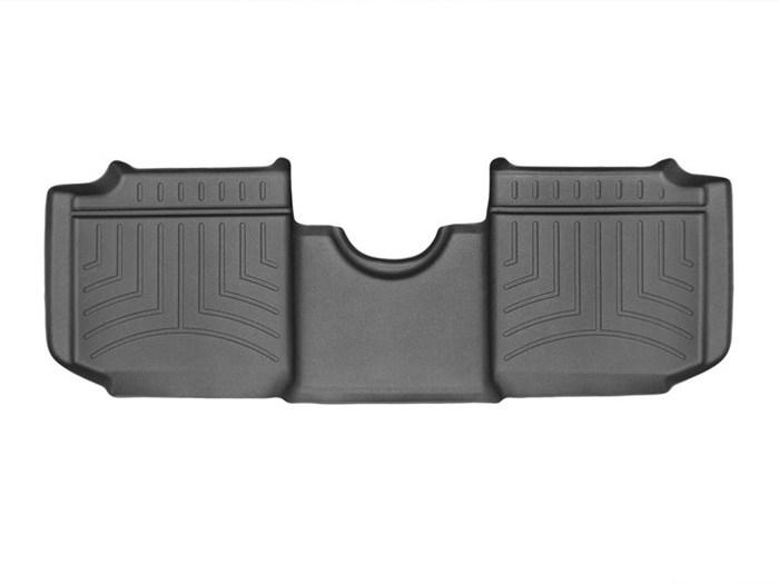 WeatherTech DigitalFit Floor Mats for 2014-2017 Fiat 500L [Covers Rear, Black] (WEA95331)