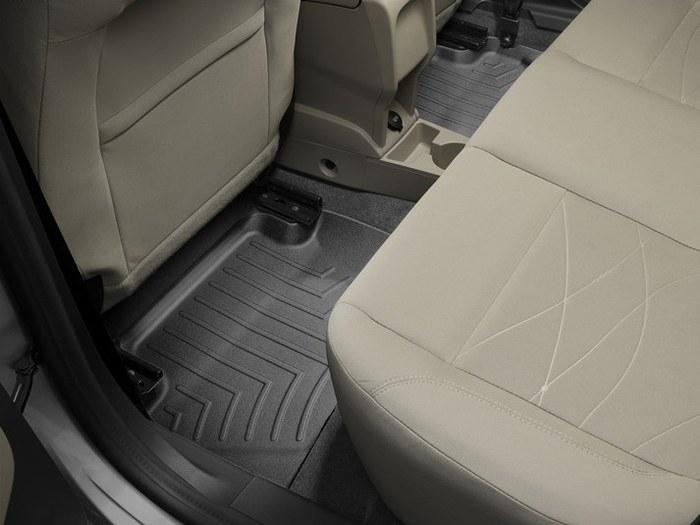WeatherTech DigitalFit Floor Mats for 2014-2017 Ford Fiesta [Covers Rear, Black] (WEA94857)
