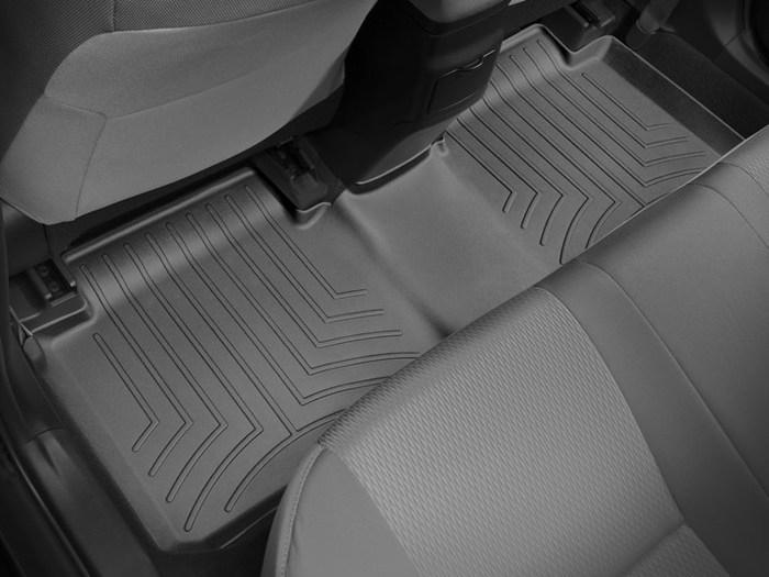 WeatherTech DigitalFit Floor Mats for 2014-2017 Toyota Corolla [Covers Rear, Black] (WEA95460)