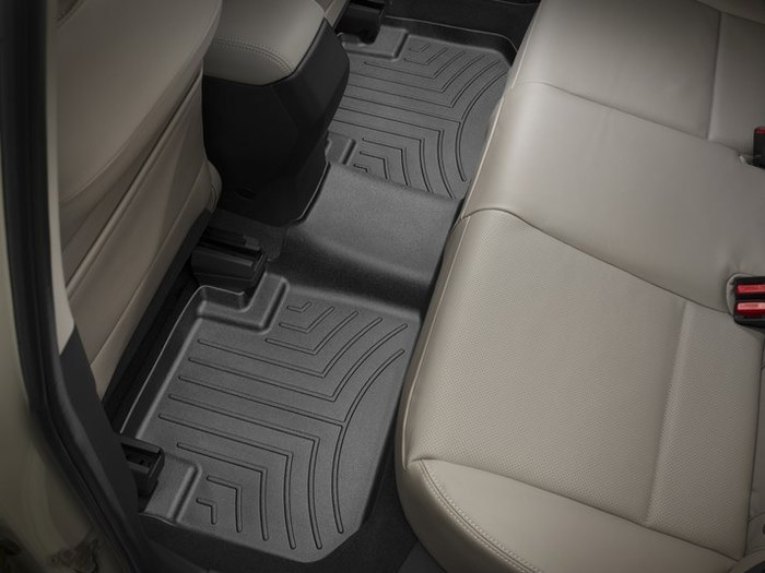 WeatherTech DigitalFit Floor Mats for 2014-2018 Subaru Forester [Covers Rear, Black] (WEA95342)