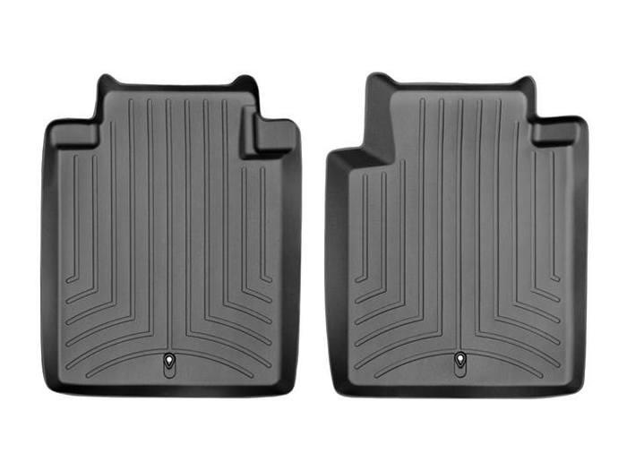 WeatherTech DigitalFit Floor Mats for 2015-2017 Infiniti Q70L [Covers Rear, Black] (WEA94797)