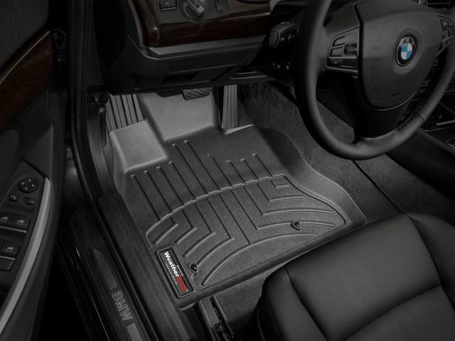 WeatherTech DigitalFit Floor Mats for 535i GT/550i GT [Covers Front, Black] (WEA94810)