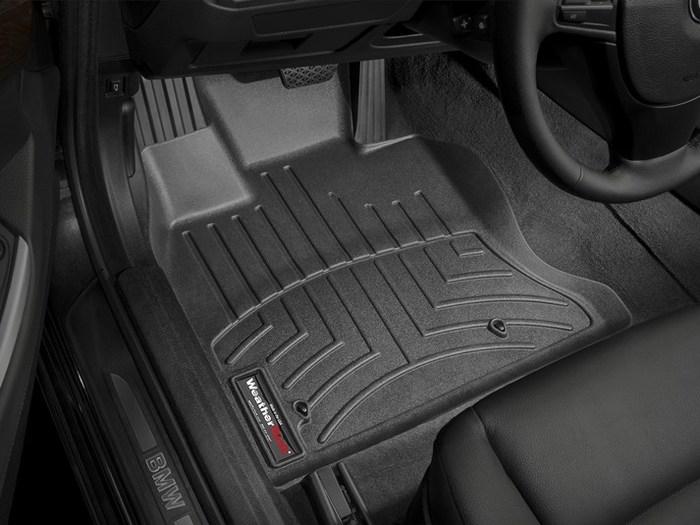 WeatherTech DigitalFit Floor Mats for 535i GT xDrive/550i GT xDrive [Covers Front, Black] (WEA95301)