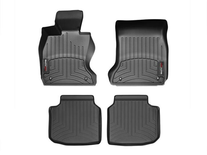 WeatherTech DigitalFit Floor Mats for 740Li xDrive/750Li xDrive [Covers Front & Rear, Black] (WEA94999)