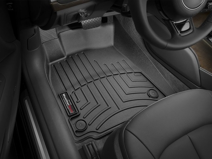 WeatherTech DigitalFit Floor Mats for Audi [Covers Front, Black] (WEA95418)
